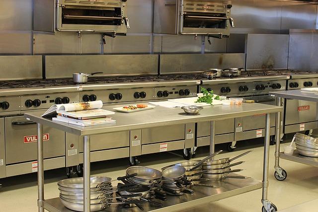 ציוד במטבח תעשייתי